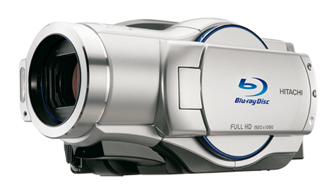 Hitachi Blu-ray Disc camcorder