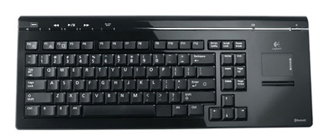 Logitech headset and keyboard