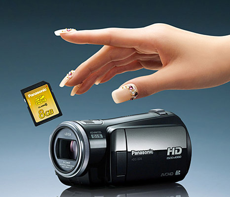 Panasonic full HD camcorders