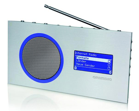 Grundig portable internet radio