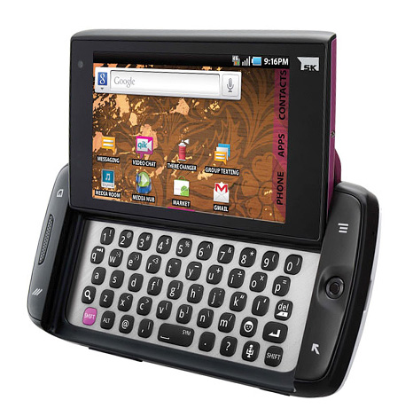 pictures of the new sidekick 4g. The new Sidekick 4G also comes