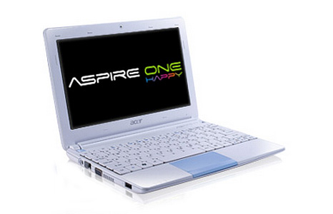 Acer One Happy netbook