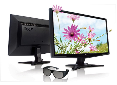 Acer 3D Series displays